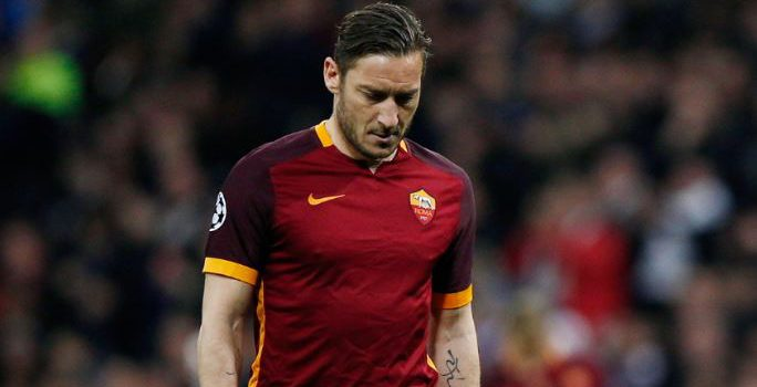 Un capitano Totti Netflix