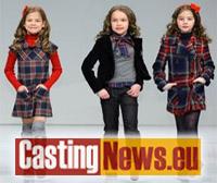 753932a0d4 Si cercano bambini e bambine per la realizzazione di un nuovo catalogo  d'abbigliamento della nuova collezione Primavera/estate 2018. Casting  bambini 2017.